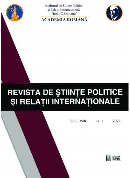 Revista de Științe Politice și Relații Internationale Nr.1 / 2021