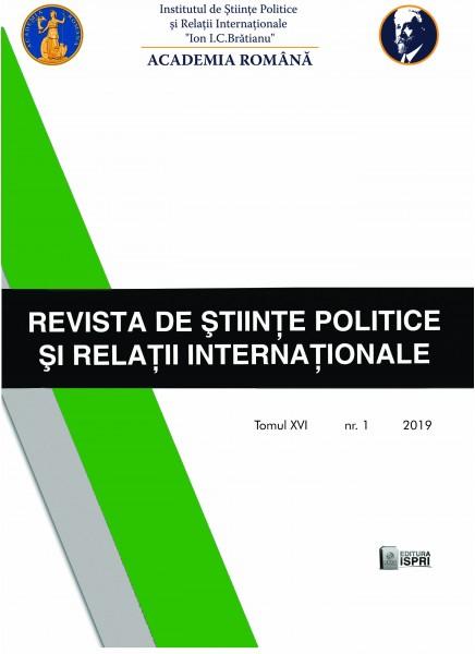 Revista de Științe Politice și Relații Internaționale Nr.1 / 2019