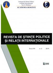 Revista de Științe Politice și Relații Internaționale Nr.3 / 2019