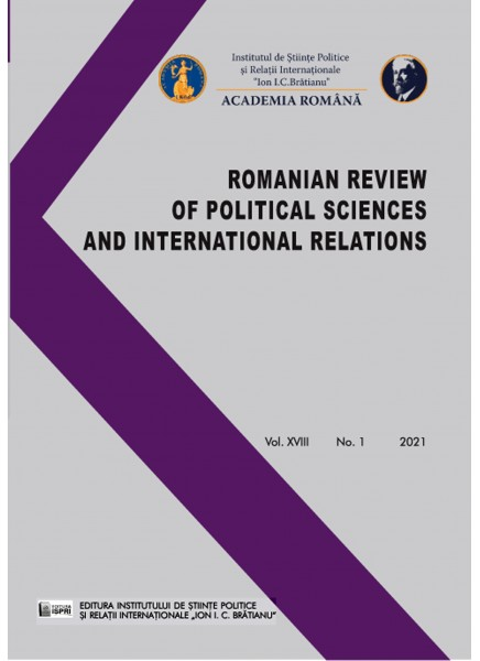 Romanian Review of Political Sciences and International Relations Nr.1 / 2021
