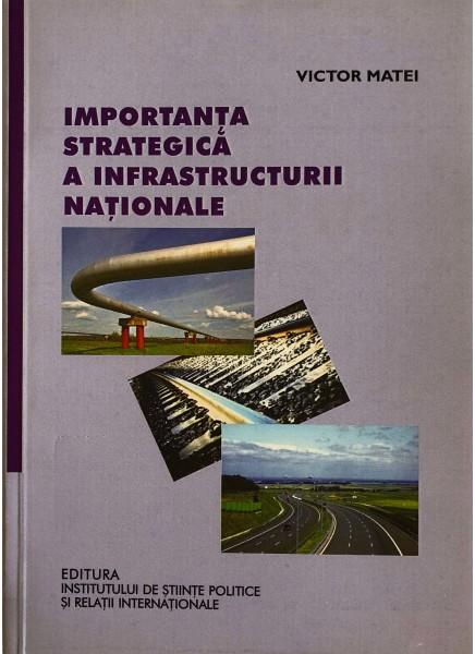 Importanţa strategică a infrastructurii naţionale