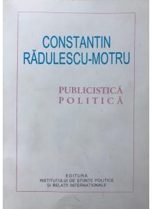 Constantin Rădulescu-Motru publicistică politică