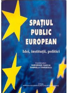 Spaţiul public european