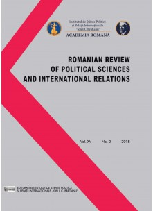 Romanian Review of Political Sciences and International Relations Nr.2 / 2018