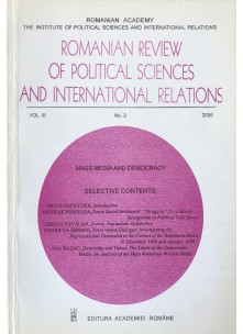Romanian Review of Political Sciences and International Relations Nr.2 / 2006