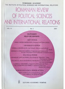 Romanian Review of Political Sciences and International Relations Nr.2 / 2007