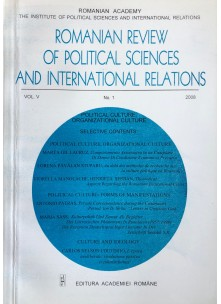 Romanian Review of Political Sciences and International Relations Nr.1 / 2008