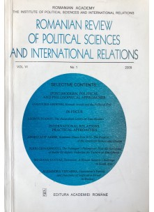 Romanian Review of Political Sciences and International Relations Nr.1 / 2009