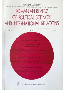 Romanian Review of Political Sciences and International Relations Nr.2 / 2010