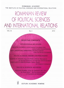 Romanian Review of Political Sciences and International Relations Nr.2 / 2012
