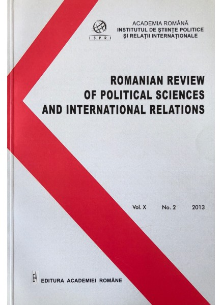 Romanian Review of Political Sciences and International Relations Nr.2 / 2013