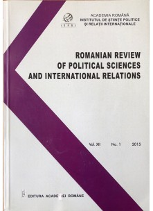Romanian Review of Political Sciences and International Relations Nr.1 / 2015