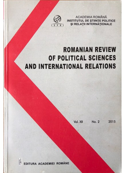 Romanian Review of Political Sciences and International Relations Nr.2 / 2015