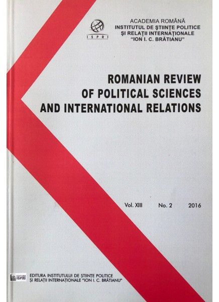 Romanian Review of Political Sciences and International Relations Nr.2 / 2016