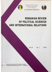 Romanian Review of Political Sciences and International Relations nr.1 /2018