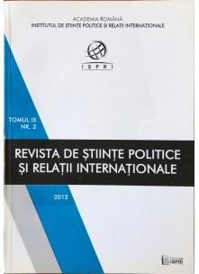 Revista de Științe Politice și Relații Internaționale nr.2 /2012