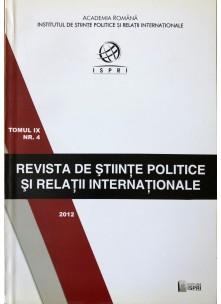 Revista de Științe Politice și Relații Internaționale nr.4 /2012