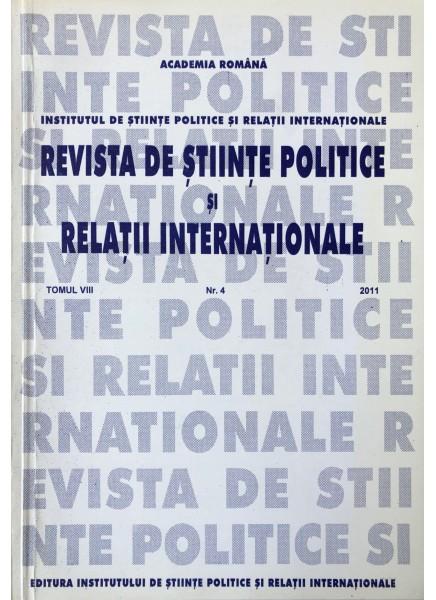 Revista de Științe Politice și Relații Internaționale nr.4 /2011