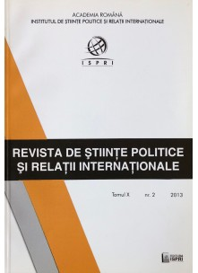 Revista de Științe Politice și Relații Internaționale nr.2 /2013