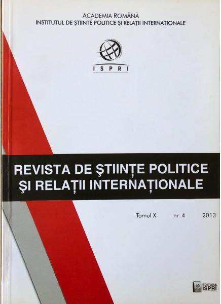 Revista de Științe Politice și Relații Internaționale nr.4 /2013