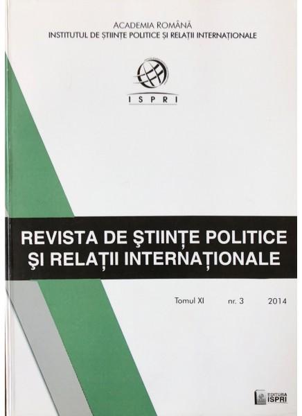 Revista de Științe Politice și Relații Internaționale nr.3 /2014