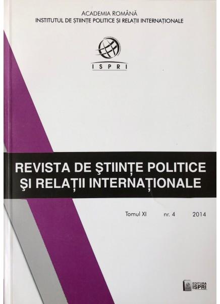 Revista de Științe Politice și Relații Internaționale nr.4 /2014
