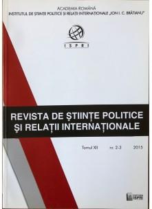 Revista de Științe Politice și Relații Internaționale nr.2-3 /2015