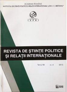 Revista de Științe Politice și Relații Internaționale nr.4 /2015