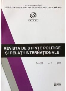 Revista de Științe Politice și Relații Internaționale nr.1 /2016