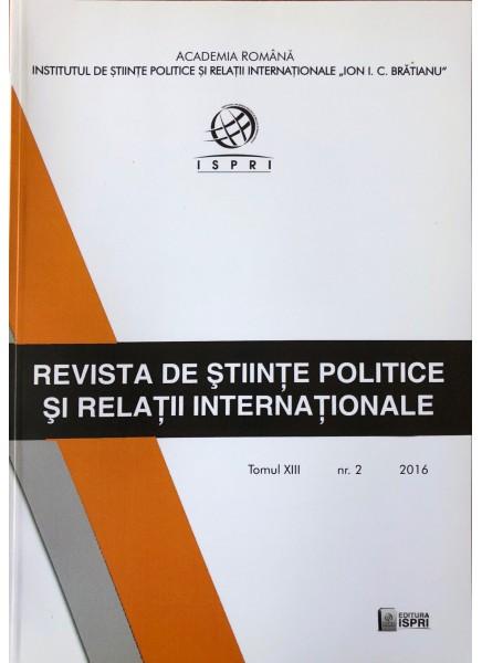 Revista de Științe Politice și Relații Internaționale nr.2 /2016