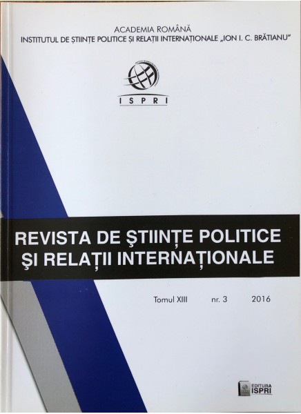 Revista de Științe Politice și Relații Internaționale nr.3 /2016