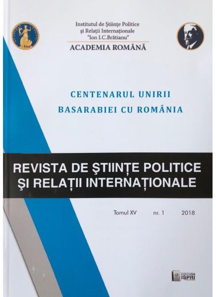 Revista de Științe Politice și Relații Internaționale nr.1 /2018