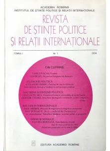 Revista de Științe Politice și Relații Internaționale nr.1 /2004