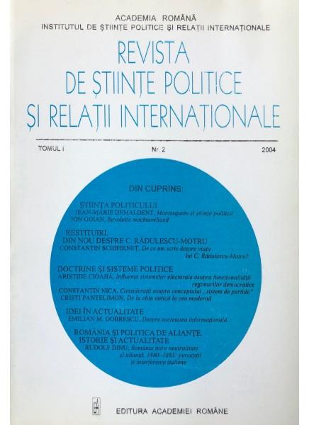 Revista de Științe Politice și Relații Internaționale nr.2 /2004