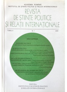 Revista de Științe Politice și Relații Internaționale nr.1 /2005