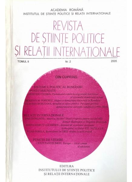 Revista de Științe Politice și Relații Internaționale nr.2 /2005