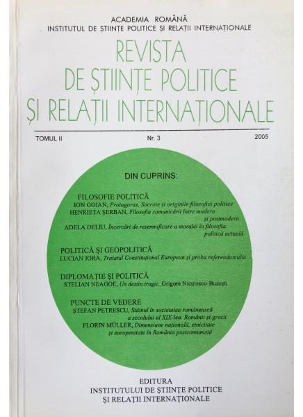 Revista de Științe Politice și Relații Internaționale nr.3 /2005