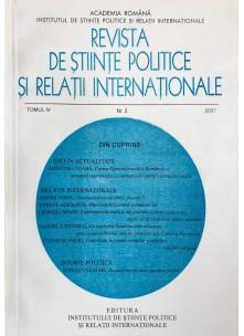 Revista de Științe Politice și Relații Internaționale nr.2 /2007