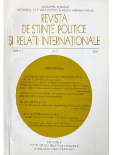 Revista de Științe Politice și Relații Internaționale nr.4 /2008