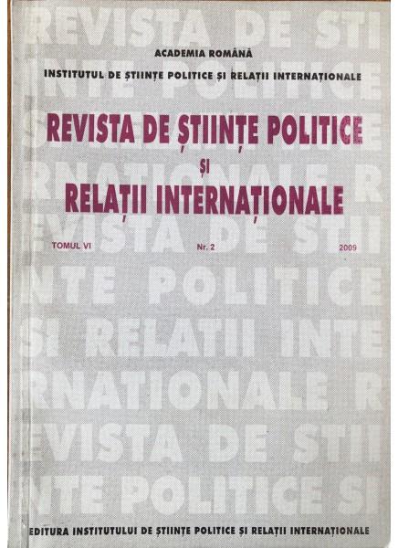 Revista de Științe Politice și Relații Internaționale nr.4 /2009