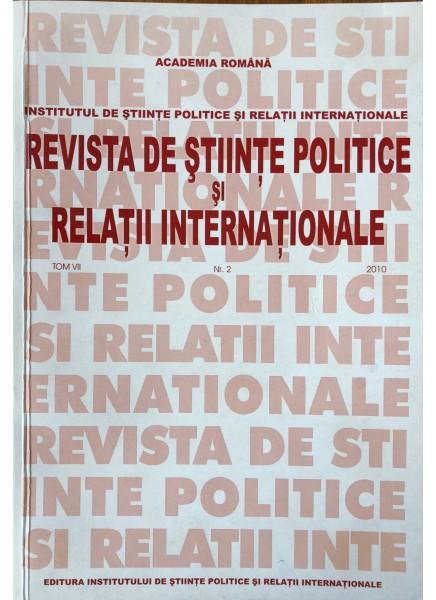 Revista de Științe Politice și Relații Internaționale nr.2 /2010