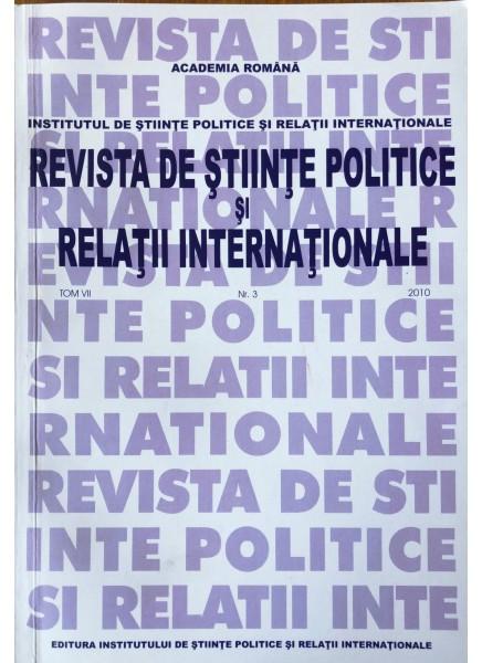 Revista de Științe Politice și Relații Internaționale nr.3 /2010