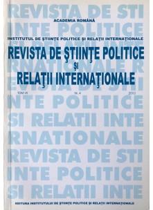 Revista de Științe Politice și Relații Internaționale nr.4 /2010