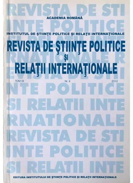 Revista de Științe Politice și Relații Internaționale nr.1 /2011