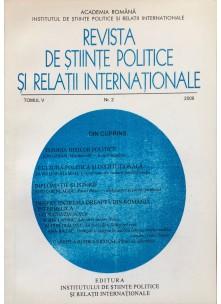 Revista de Științe Politice și Relații Internaționale nr.2 /2008