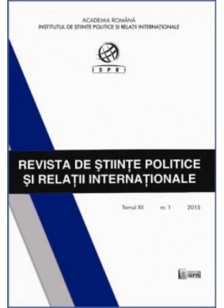 Revista de Științe Politice și Relații Internaționale nr.1 /2015