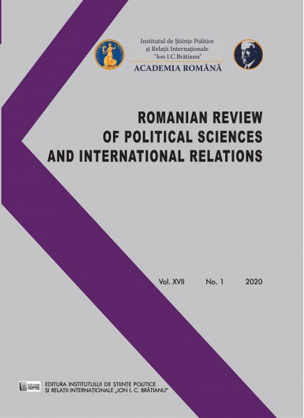 Romanian Review of Political Sciences and International Relations Nr. 1 / 2020