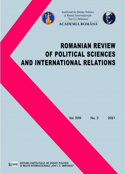 Romanian Review of Political Sciences and International Relations No.2 / 2021